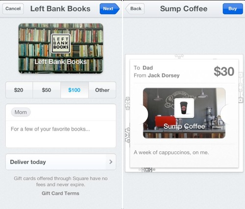 Square adds passbook integration and gift cards mac rumors square register which is designed for merchants lets business owners accept the gift cards using a qr code square wallet or apples passbook colourmoves