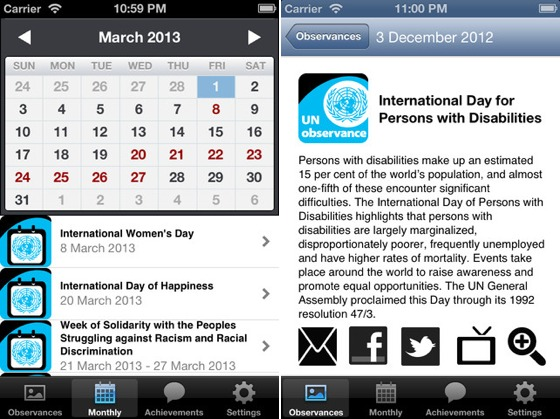 Un Releases Calendar Of Observances App To Keep Track Of