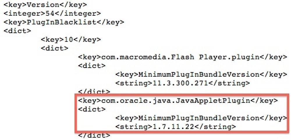 Apple Once Again Blocks Java 7 Web Plug-in - MacRumors