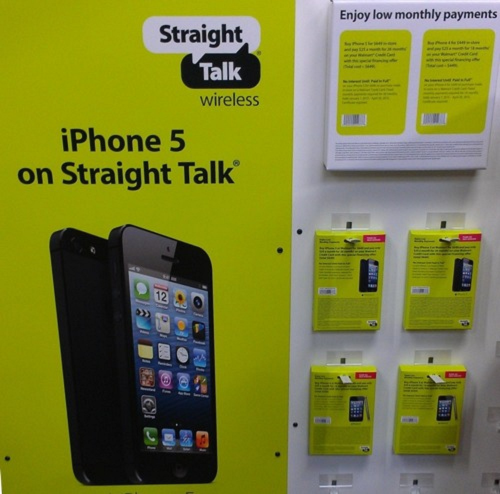 iphones for straight talk walmart and talk wireless now carrying iphone 5 15575