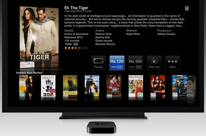 Apple TV Launches in India Following iTunes Store Launch