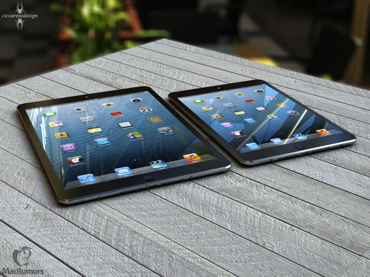 Size Comparison of iPad 4, iPad Mini, iPhone 5 and ...Ipad Mini Retina Size