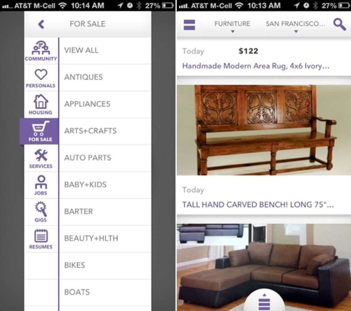 Officially Licensed Craigslist App Enhances Mobile Experience With Image Centric Interface Mac