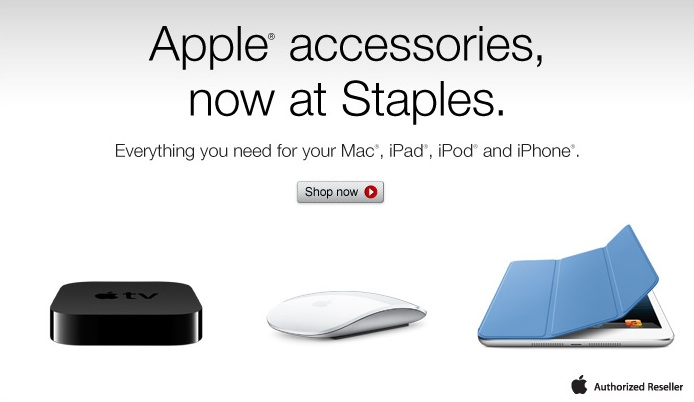 271bbc3a9d0 Staples Begins Selling Apple Accessories in U.S. Online Store ...