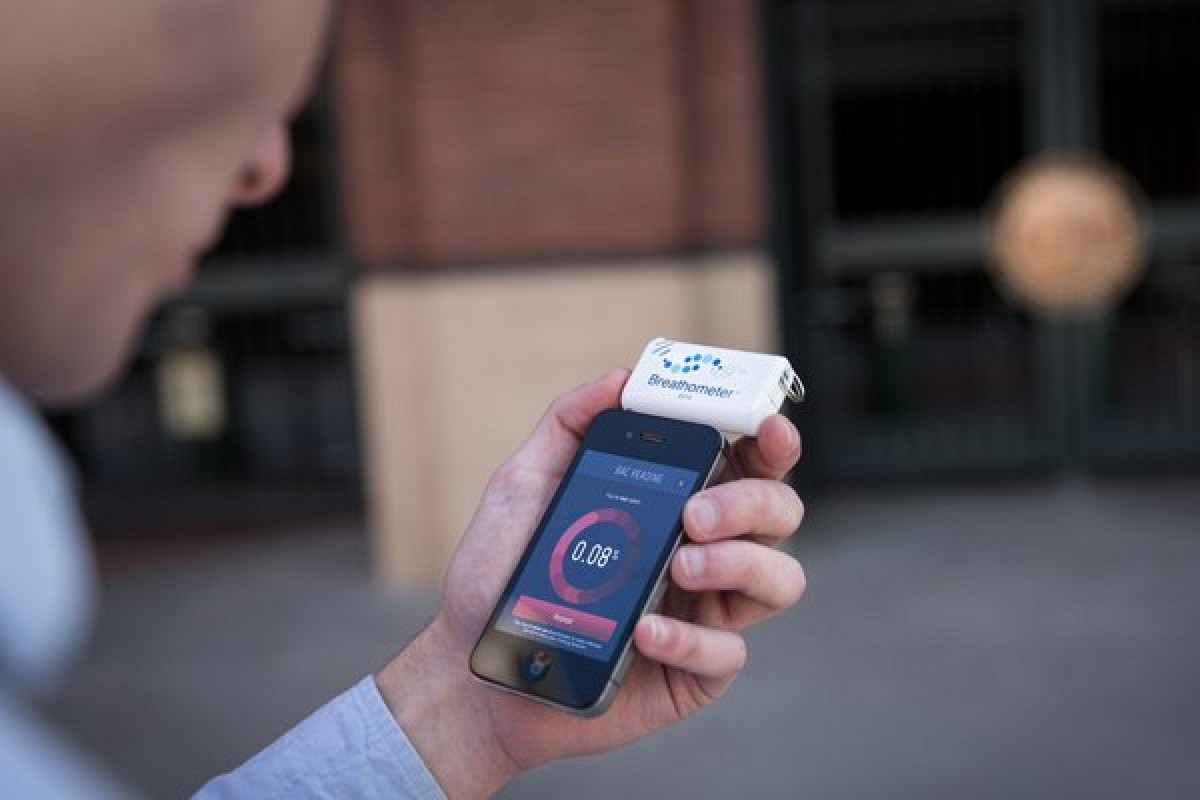 Breathometer Aims to Save Lives by Stopping People from