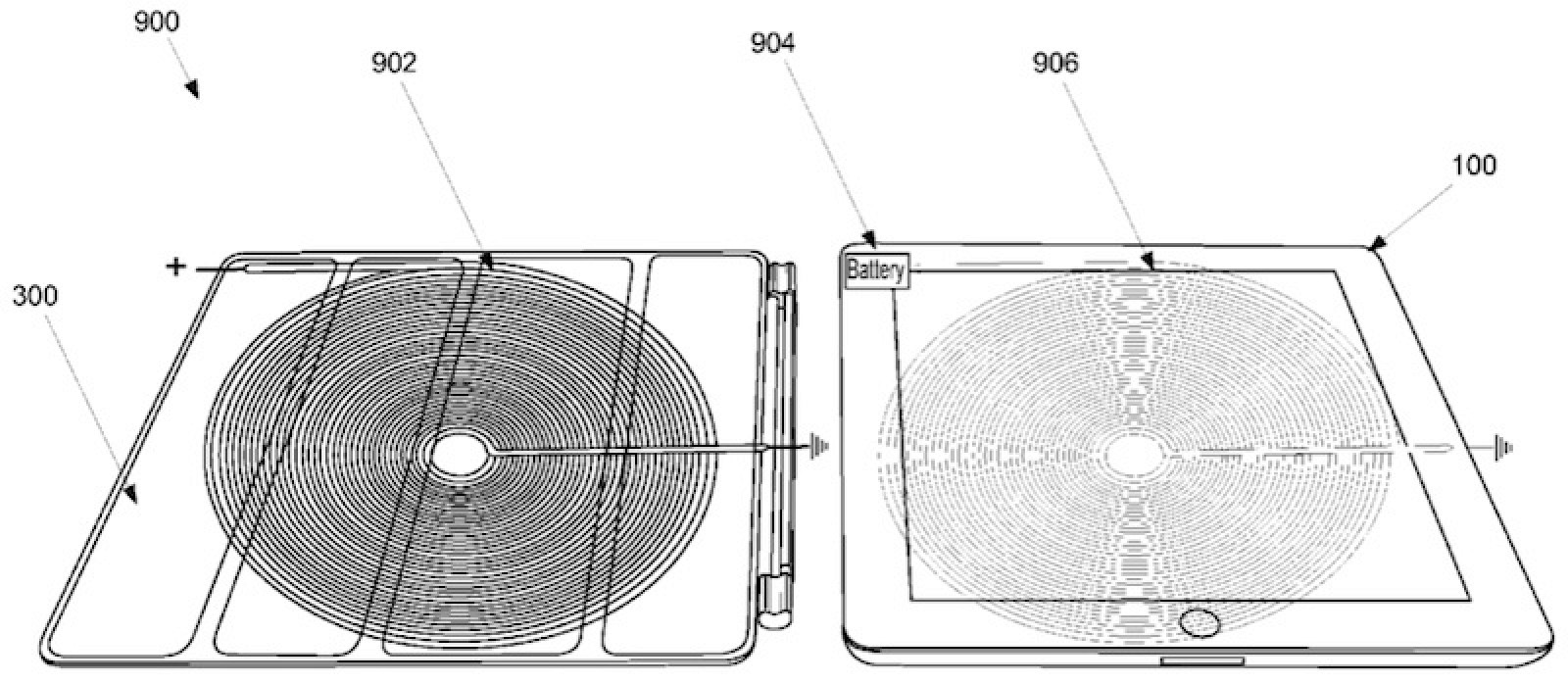 Apple Applies For Patent On Wireless Ipad Charging Via
