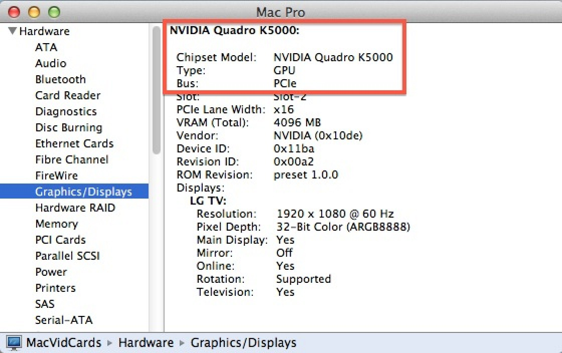 Latest OS X 10 8 3 Beta Adds NVIDIA Quadro K5000 Graphics