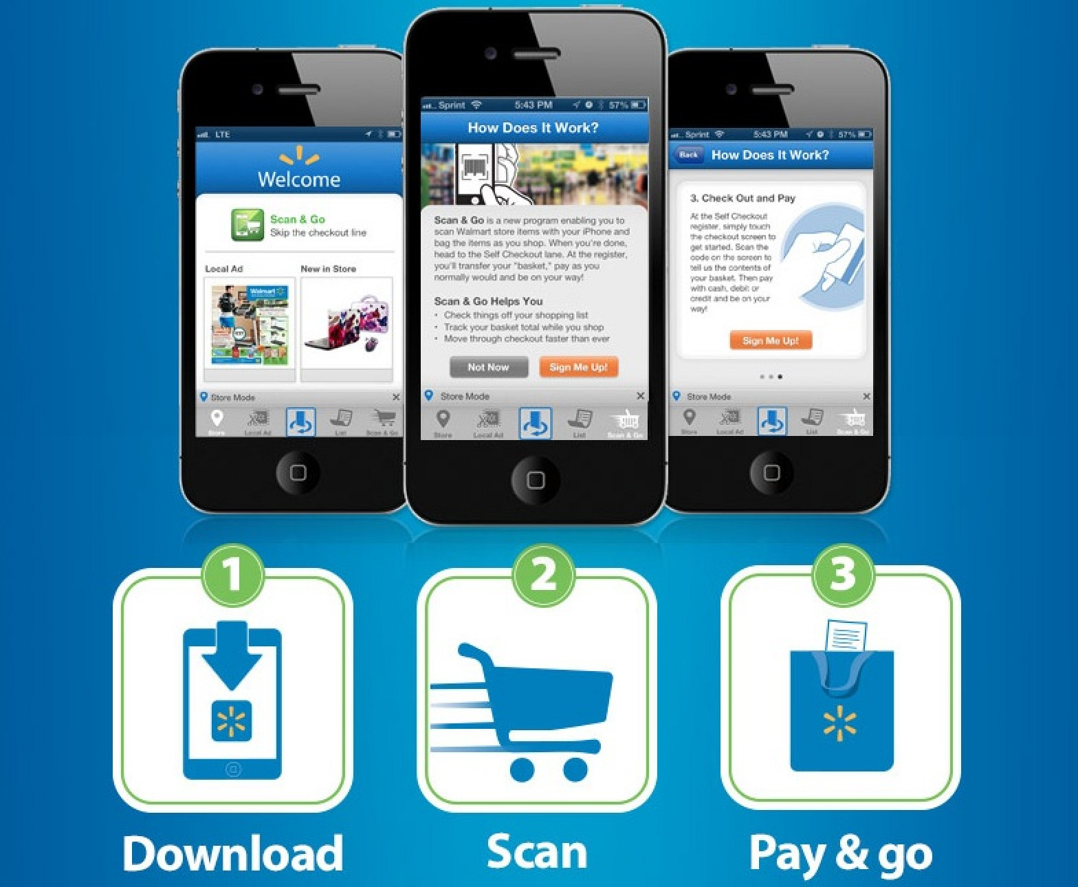 how do i scan with my iphone walmart expanding scan amp go iphone self checkout to 3457