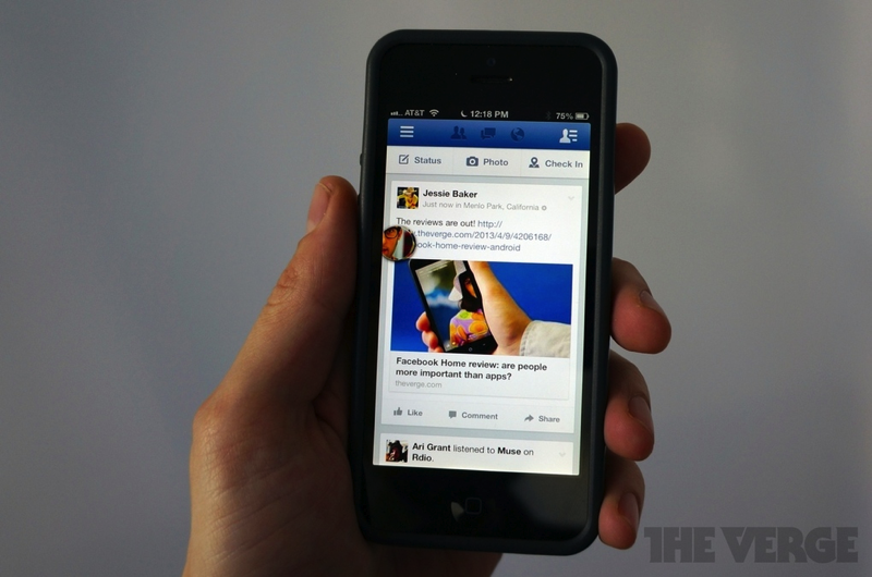 Facebook Bringing Chat Heads to Its iOS Apps, Updated iPad