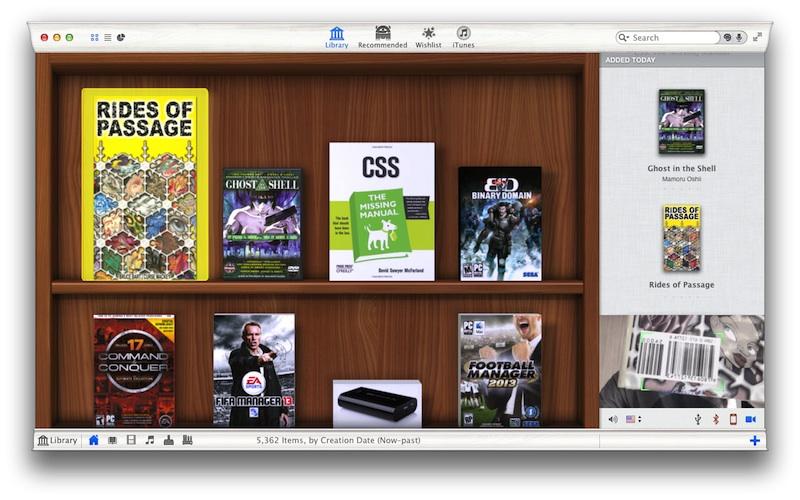 Delicious Library 3 Mac