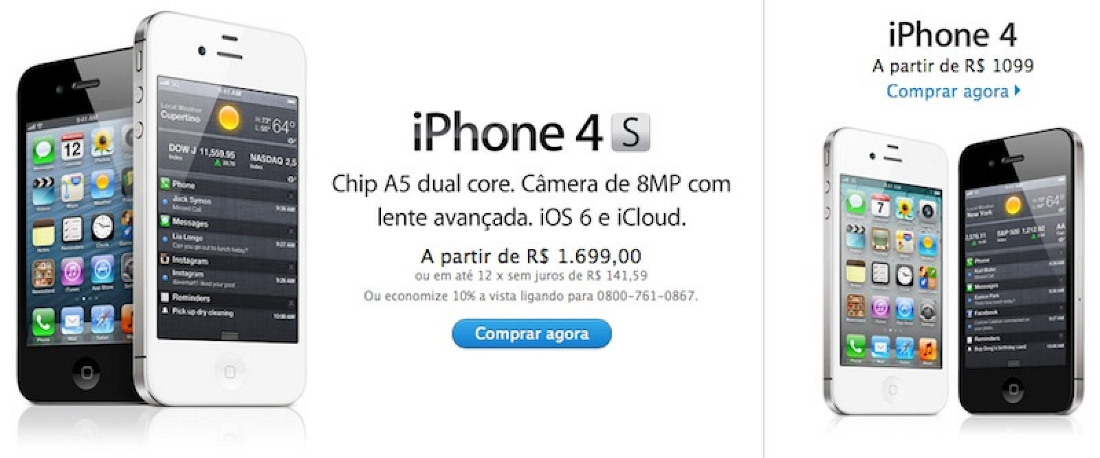 iPhone 4 Prices in Brazil
