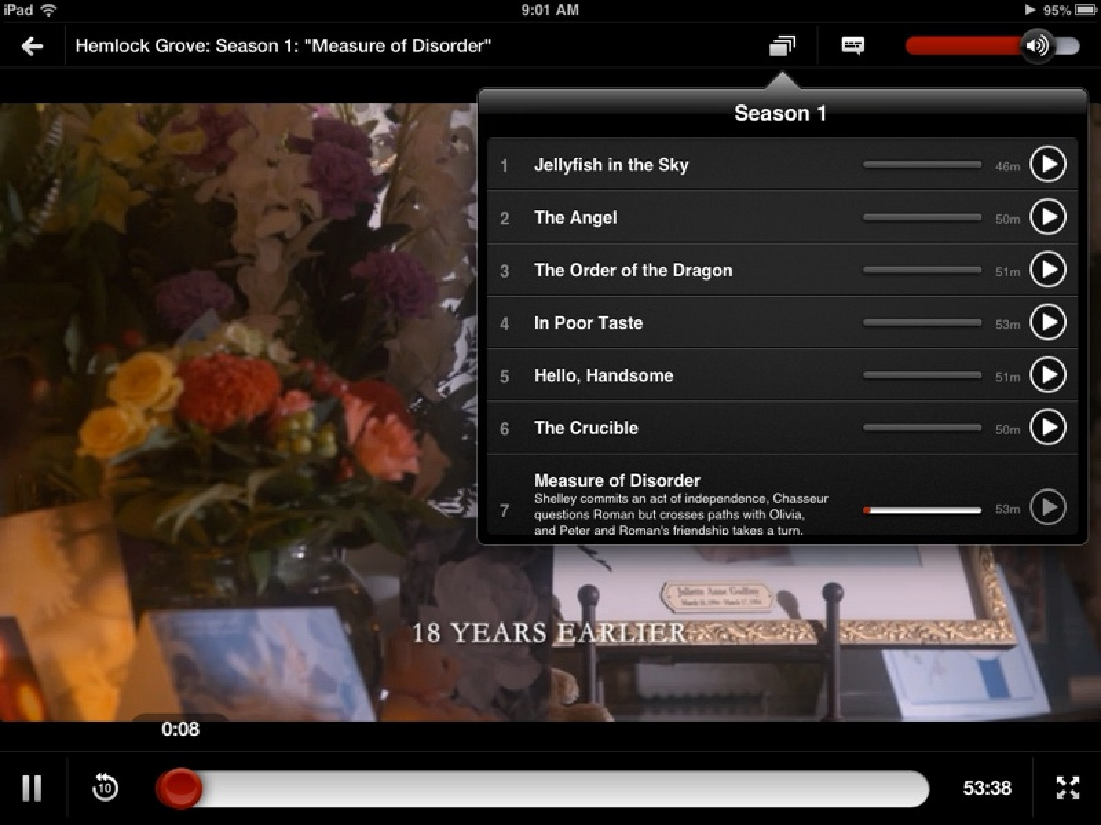 Netflix Updated with Minor Redesign, New Episode Selector Feature