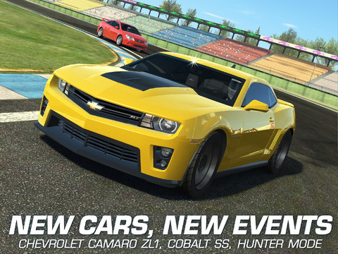 Real Racing Updated To Add Chevrolet Cars New Events And Cloud