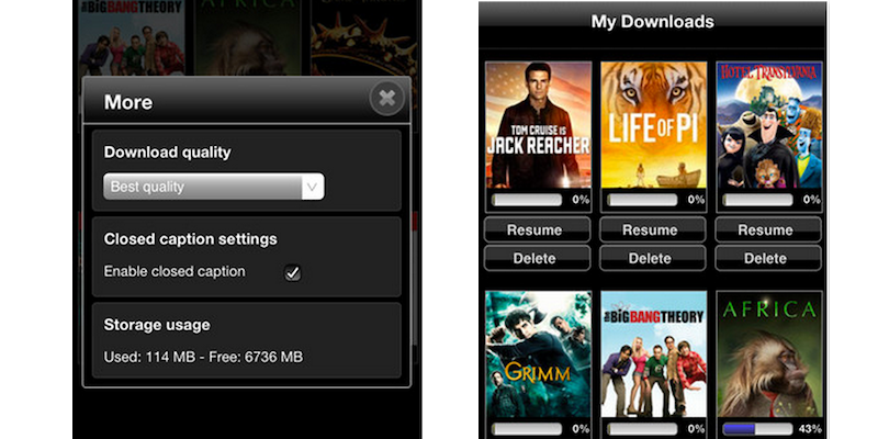 Vudu Player for iOS Gets Updated With Ability to Download Movies