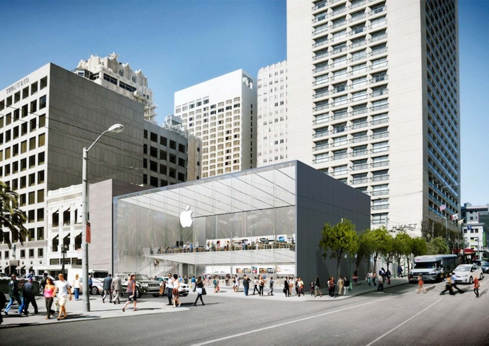 Apple's Revised Plans for New Flagship San Francisco Store ...