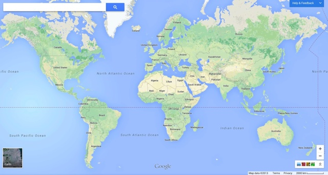 Google shows off upcoming map changes announces ipad app mac rumors a lone search box in the upper left gives you access to maps features as does clicking on elements within the map google has integrated google nows card gumiabroncs Image collections