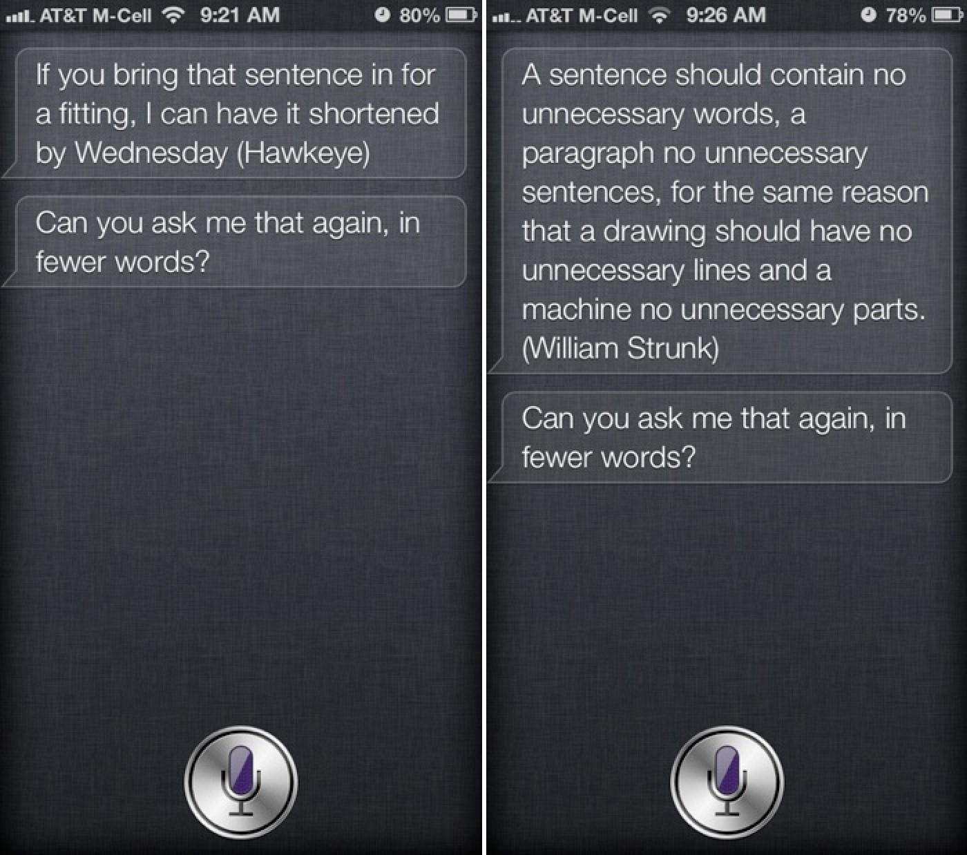 Quotes Questions Siri Updated To Respond To Long Questions With Quotes On Brevity