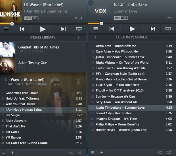 Redesigned Vox Music Player 1 0 Offers Minimalistic