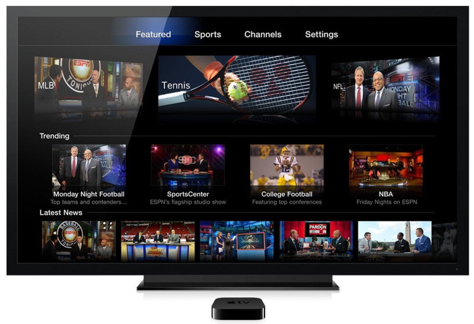 Apple Adds Watchespn Hbo Go Sky News And More To Apple