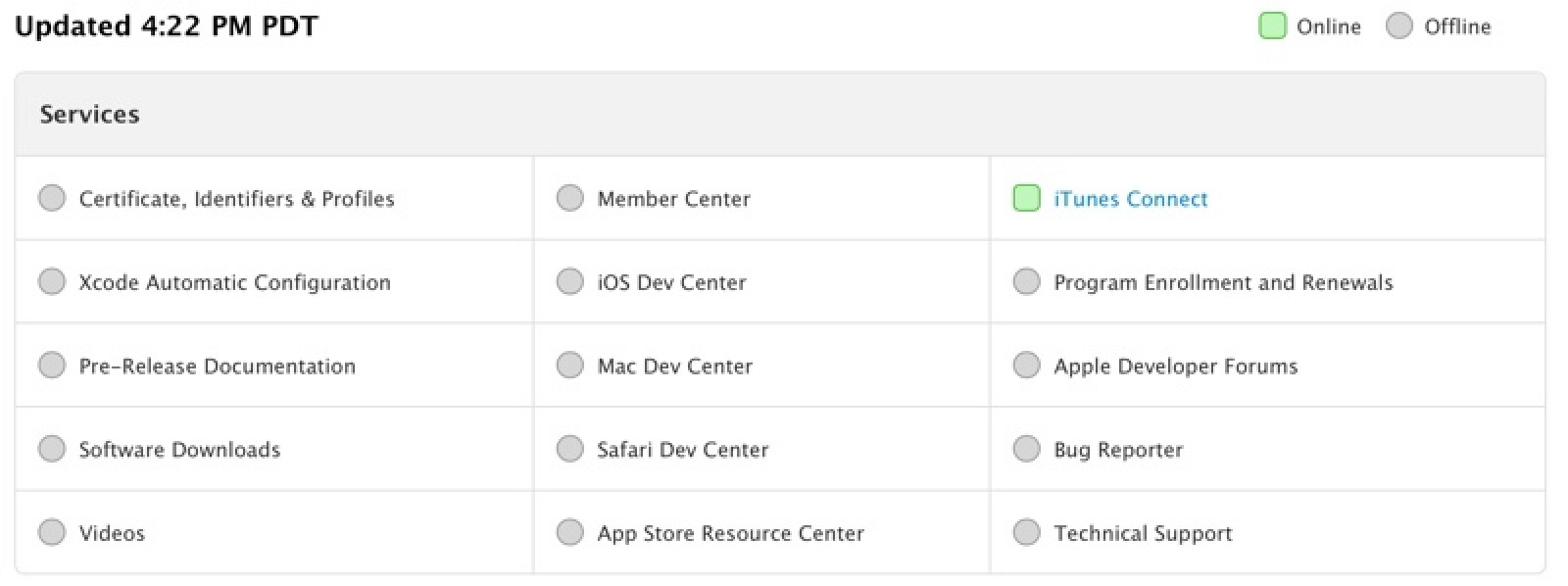 Apple Outlines Plan for Bringing Developer Center Back