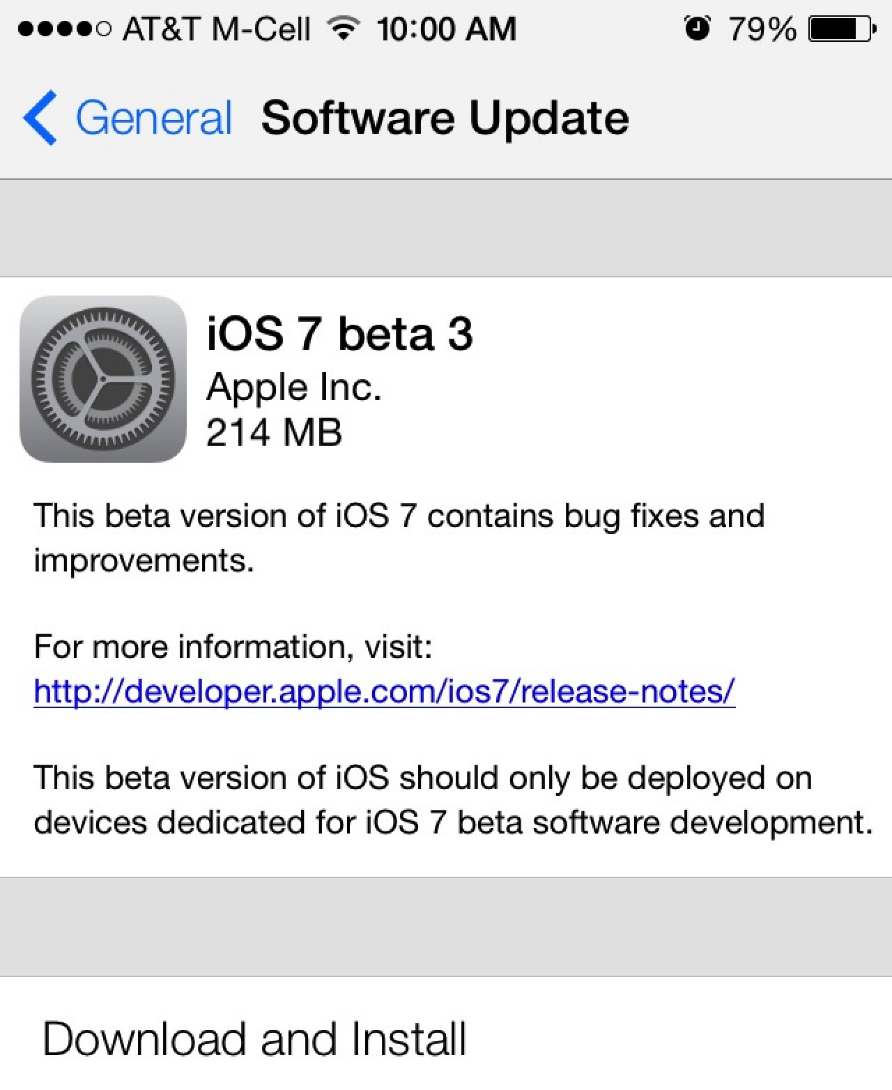 Apple Seeds iOS 7 Beta 3 to Developers - MacRumors