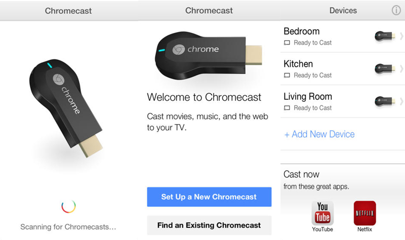 does google chromecast work with iphone