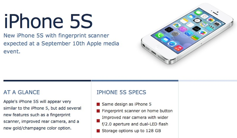 Macrumors roundups what we expect for the iphone 5s 5c for Iphone 5 features friday rumor roundup