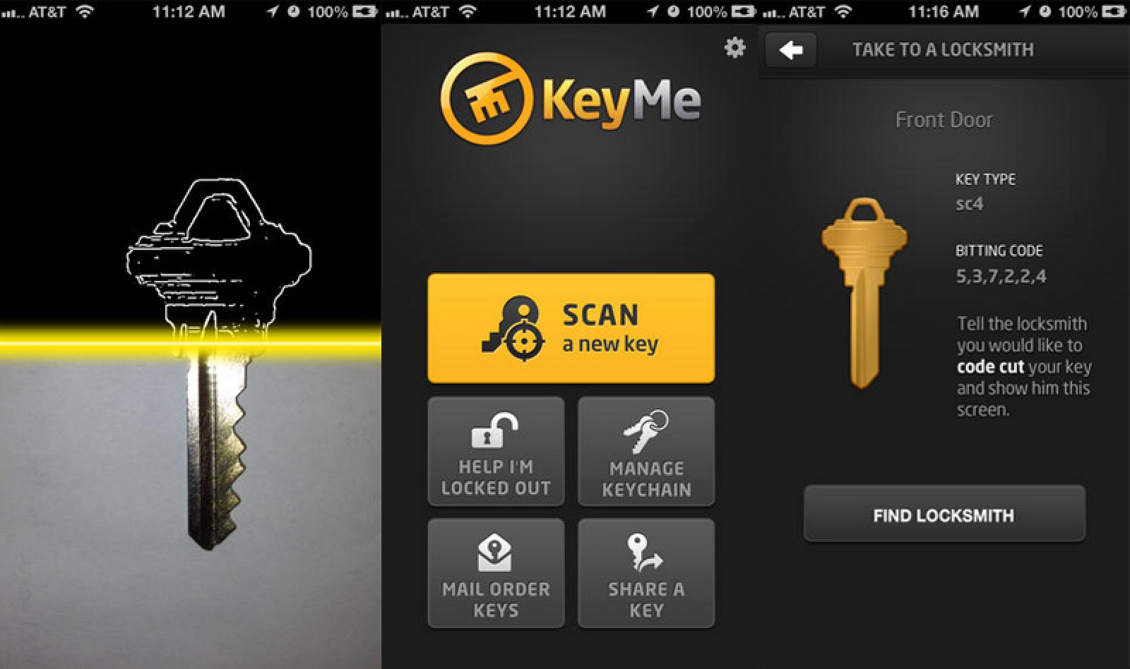 House Key Scanning Service 'KeyMe' Launches for iOS to Help