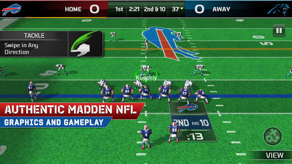 EA Sports Releases Free-To-Play Madden NFL 25 for iOS