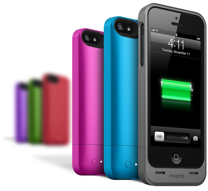 sports shoes 5205a 50c1f Mophie Launches Juice Pack Helium Spectrum Collection for iPhone 5 ...