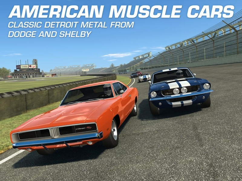 Real racing 3 updated with new cars and events mac rumors for American classic realty