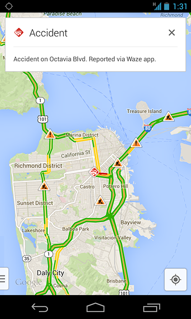 Google Brings Waze Features to Google Maps for iOS and