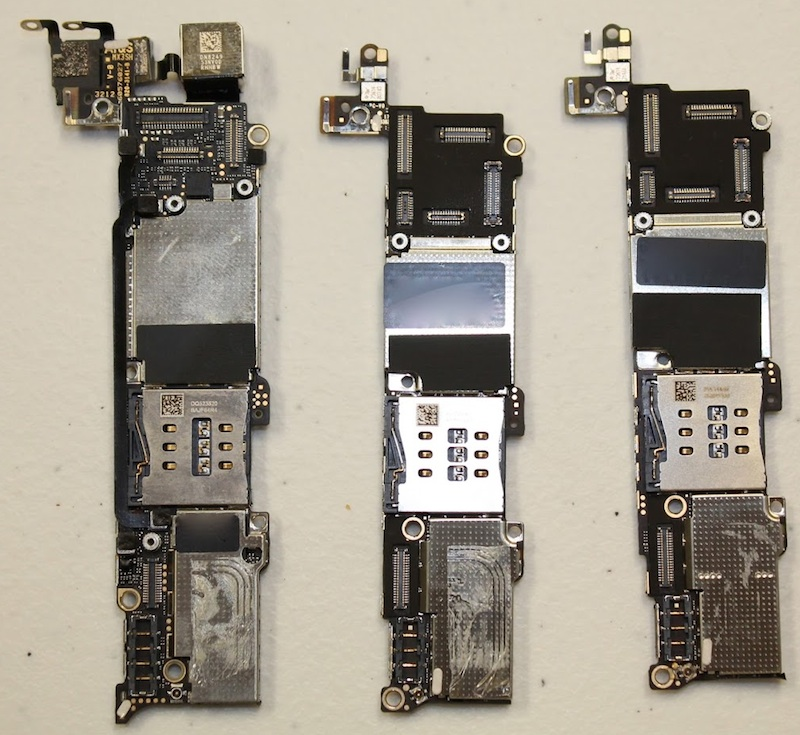 First Iphone 5s And Iphone 5c Teardowns Show Touch Id Home