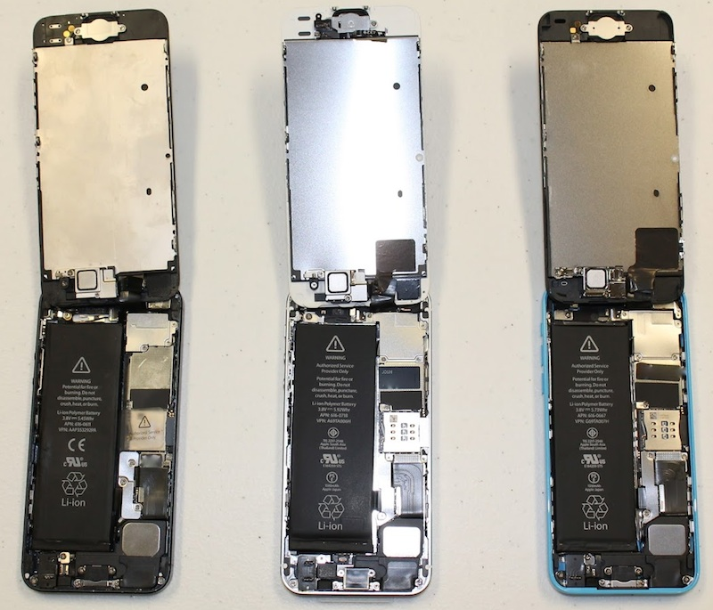how to open a iphone 5s iphone 5s and iphone 5c teardowns show touch id home 18930