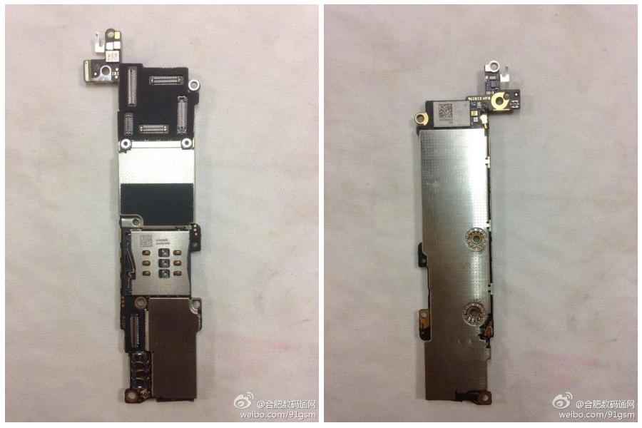 iphone 5c motherboard photos of alleged iphone 5c logic board surface appears 2466
