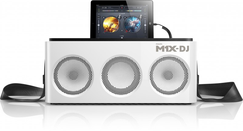 Philips Announces M1x Dj Music System For Ios Devices