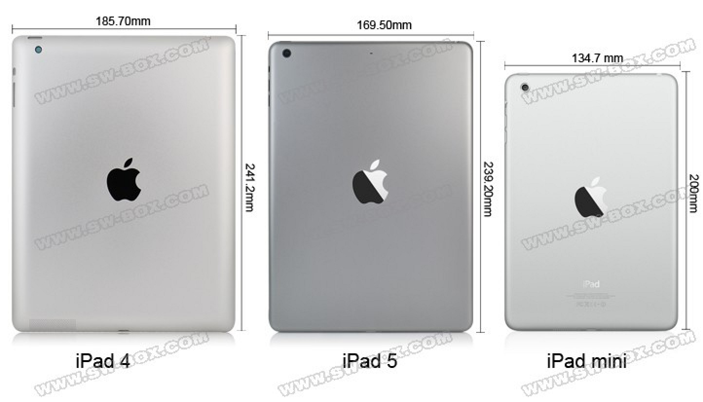 detailed video showing ipad 5 physical changes macrumors. Black Bedroom Furniture Sets. Home Design Ideas