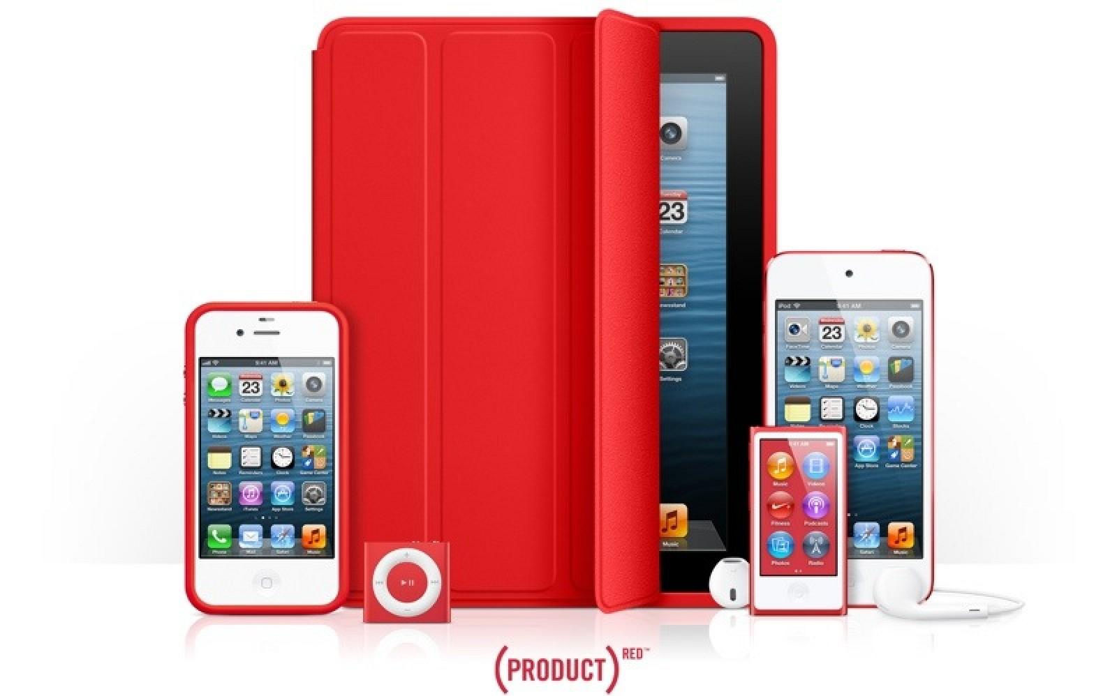 Apples Product Red Charity Contributions Reach 70 Million Erapod Iphone Ipad Mac Macrumors