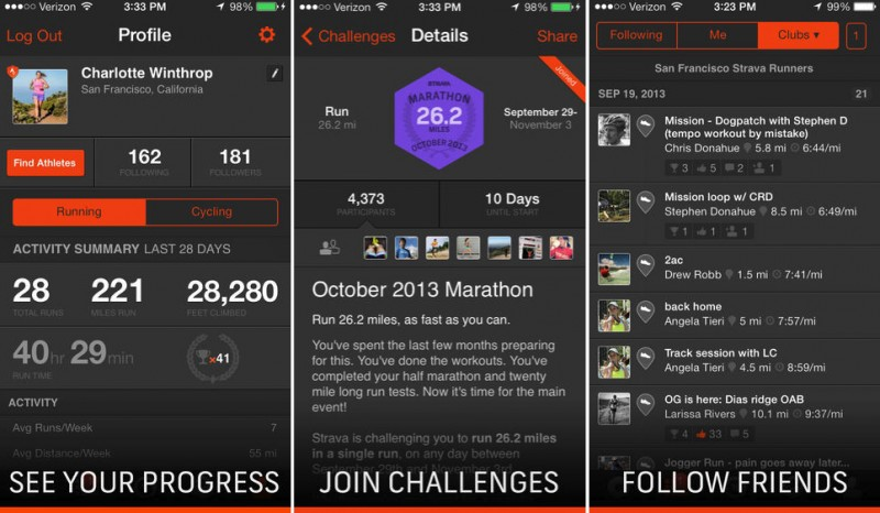 Strava Run' Updated with Support for M7 'Motion Coprocessor