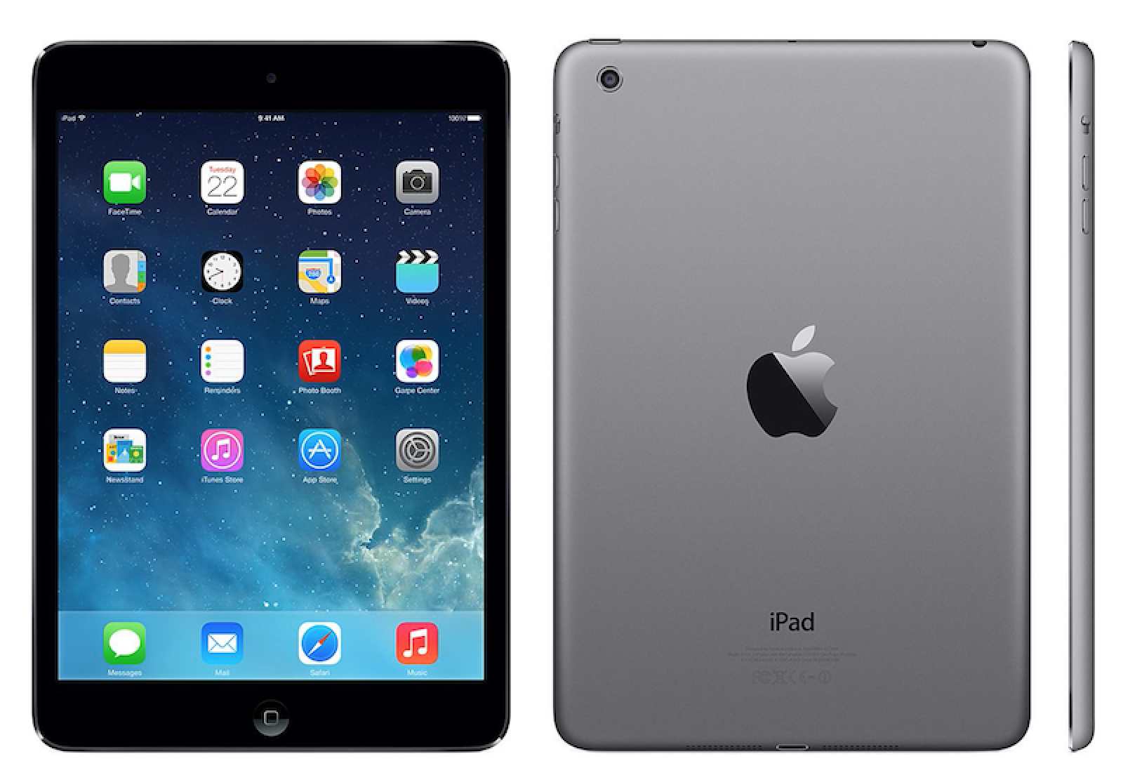 non retina space gray ipad mini starts appearing in apple retail stores mac rumors. Black Bedroom Furniture Sets. Home Design Ideas