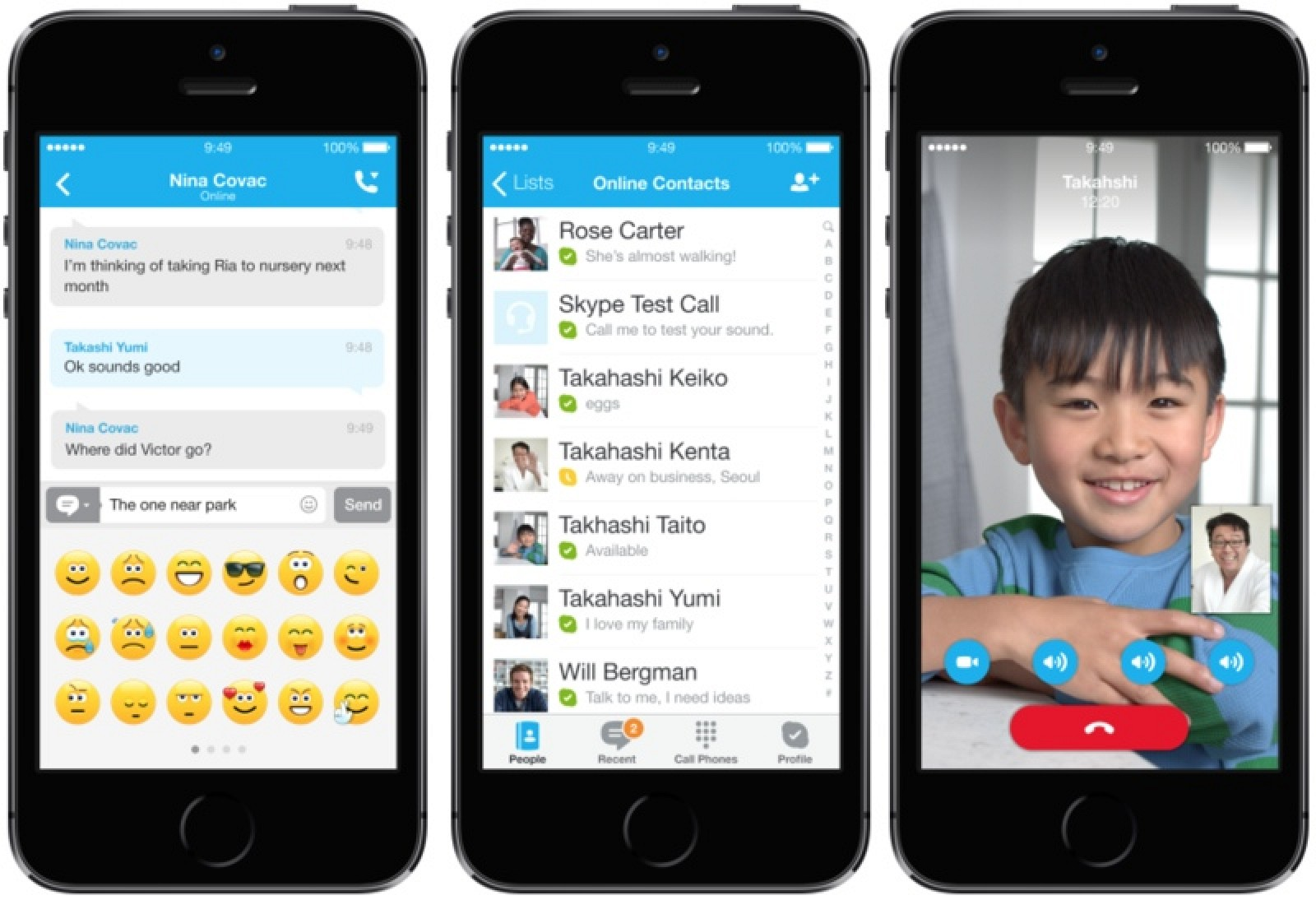 Skype For Iphone And Ipad Updated With Ios 7 Redesign