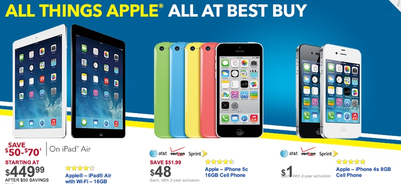 the latest c02f2 235f0 Target, Walmart and Best Buy Offering Black Friday Deals on Apple ...