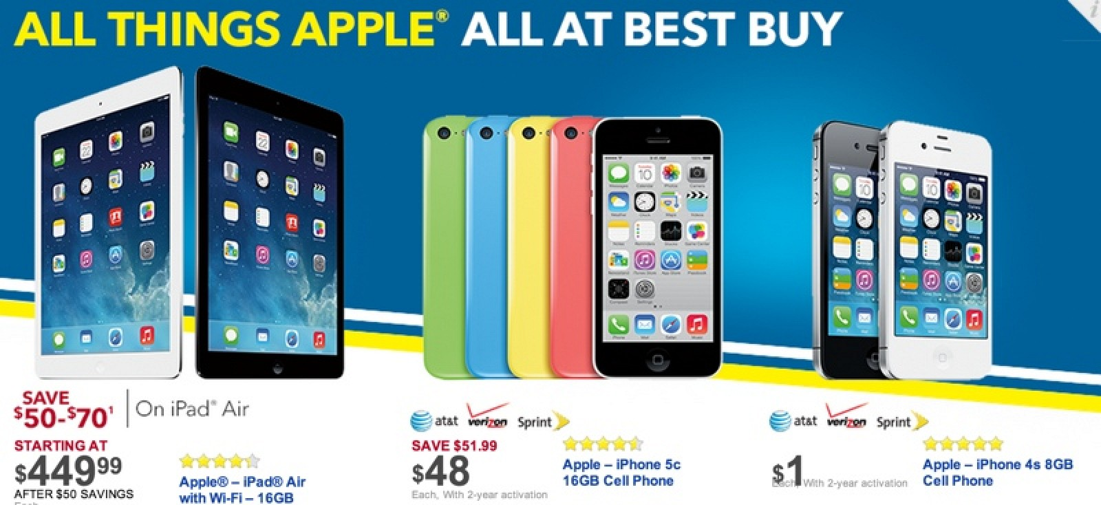 Target, Walmart and Best Buy Offering Black Friday Deals on Apple ...