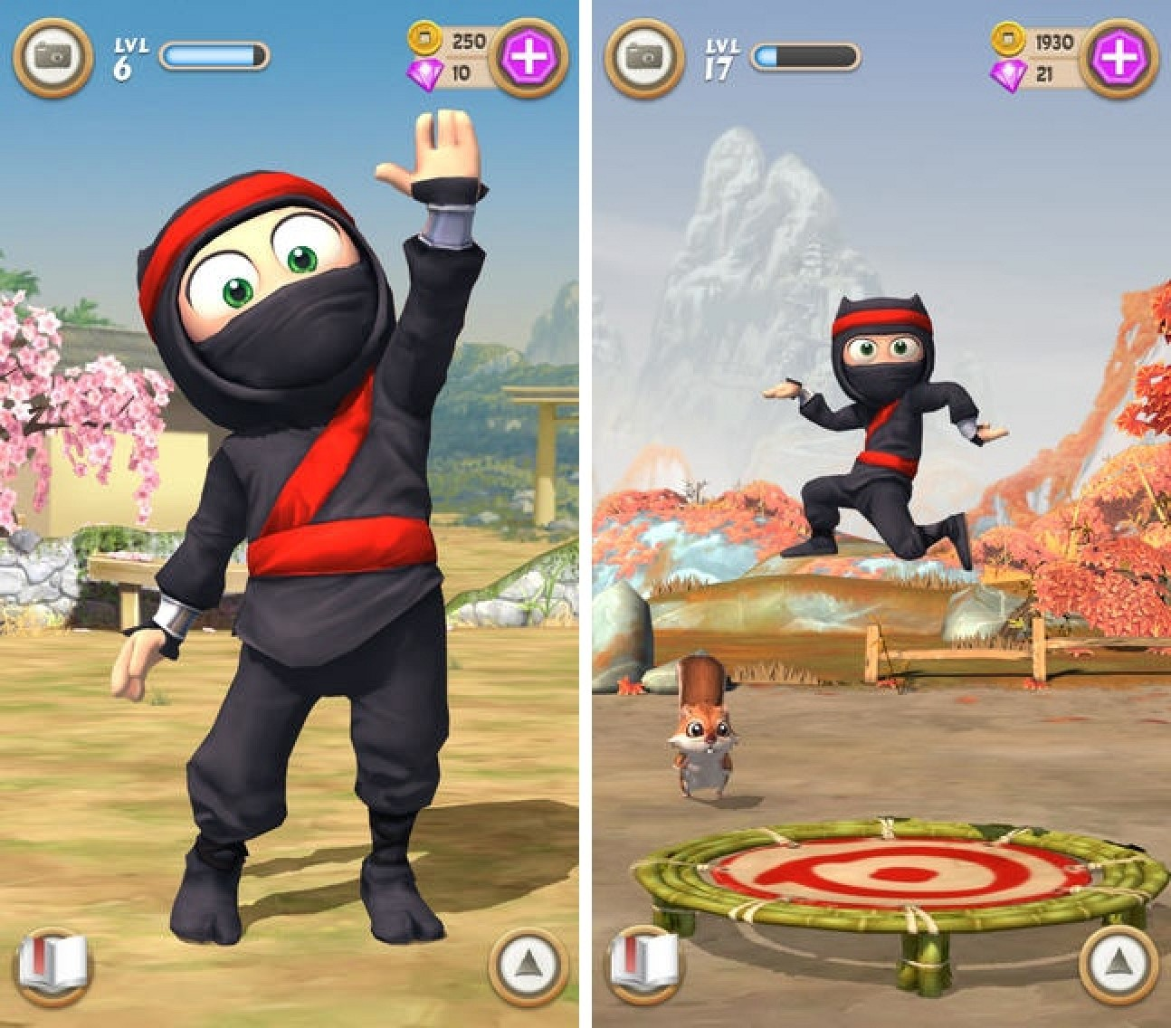 Long Awaited Clumsy Ninja Game Now Available In App -2747