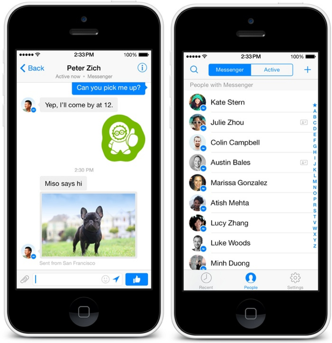facebook messenger for iphone messenger for ios updated with redesigned 14063