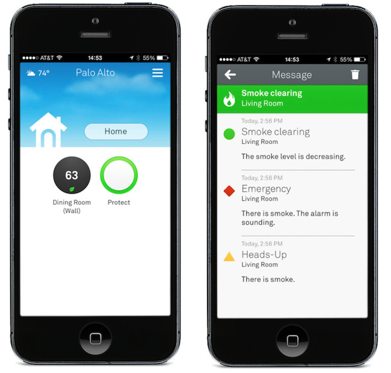 Nest Mobile Gets Update With Redesign Nest Protect