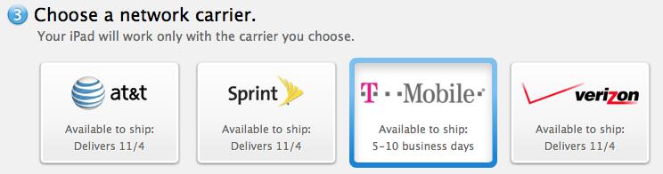 T-Mobile 128GB iPad Air
