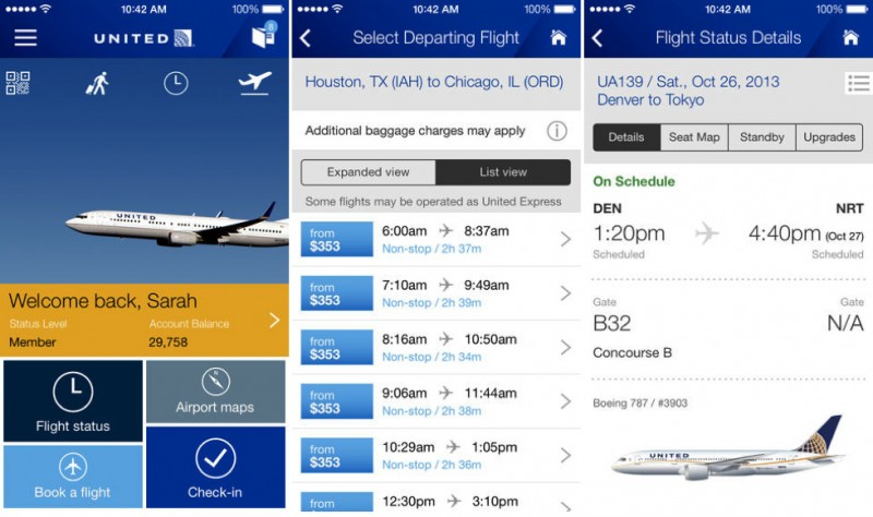 United Airlines Launches Redesigned iOS App with Travel Cards ...
