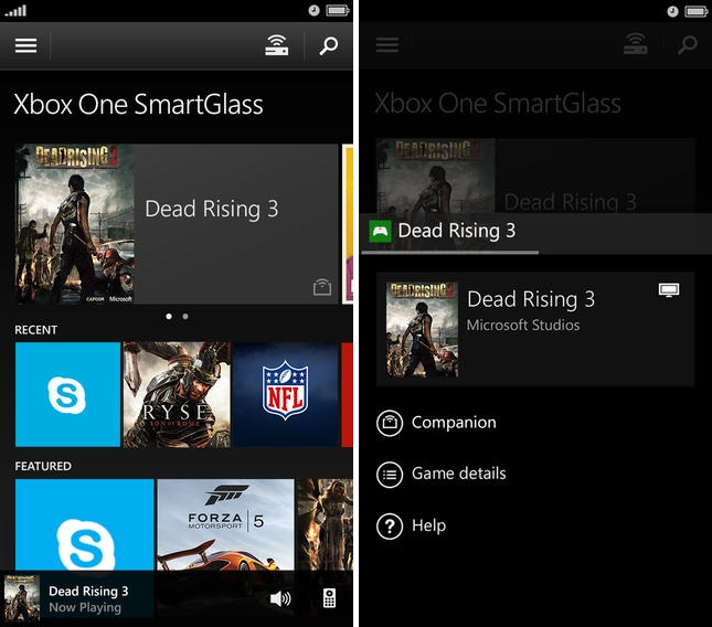 Microsoft's 'Xbox One SmartGlass' iOS App Now Available for