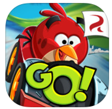 Angry Birds Go Kart Red